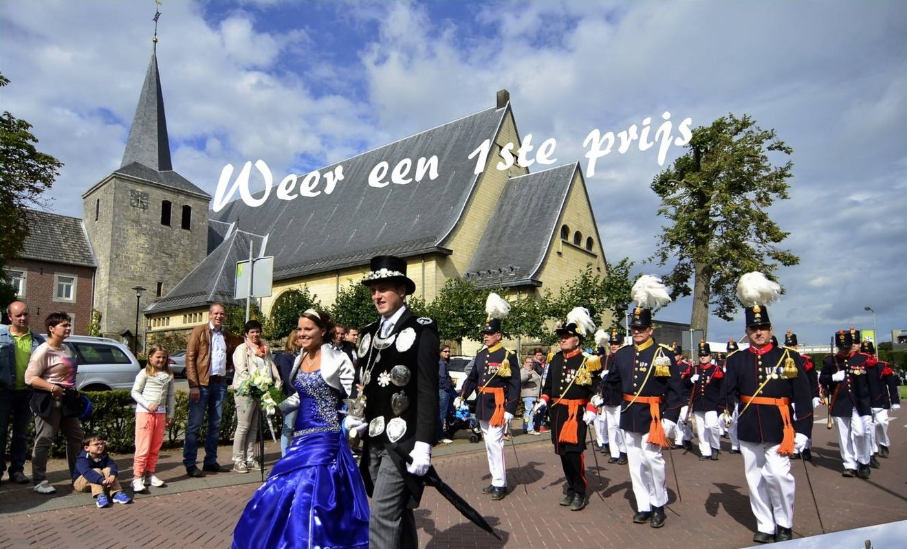 Optocht in Margraten