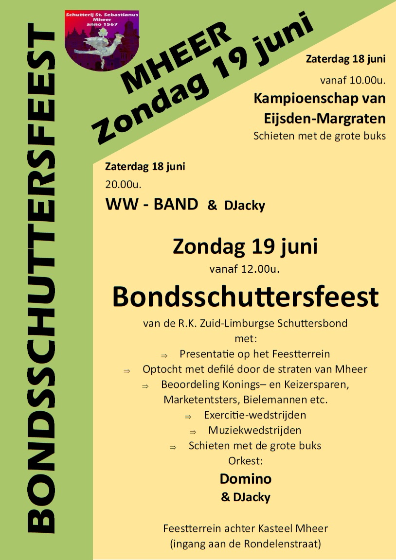 Bondsfeest in Mheer
